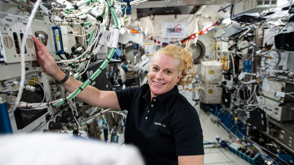 Kate Rubins aboard the ISS