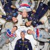 Astronauts aboard ISS